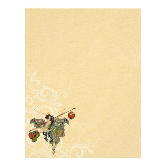 Vintage Fairy Letterhead