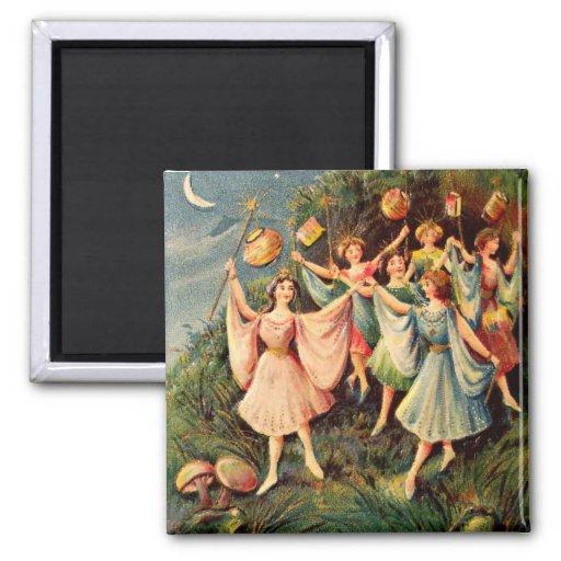 Vintage Fairy Magnet