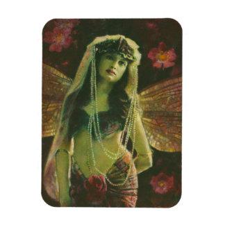 Vintage Fairy Nymph Flexible Magnet