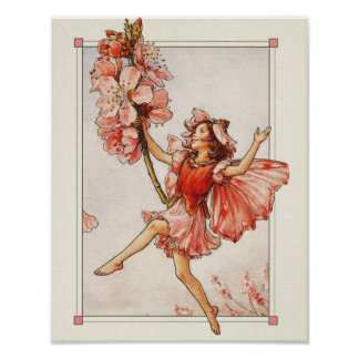 vintage fairy poster