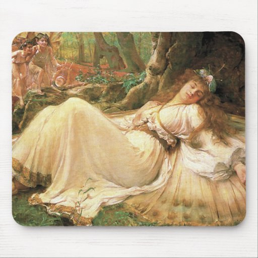 Vintage Fairy Princess Mousepad