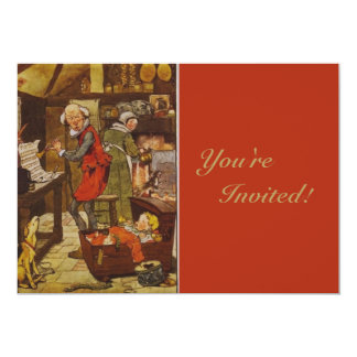 Vintage Fairy Tale 5x7 Paper Invitation Card
