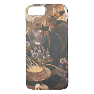Vintage Fairy Tale, Aladdin and the Magic Lamp iPhone 8/7 Case