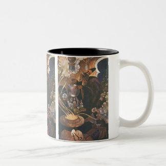 Vintage Fairy Tale, Aladdin and the Magic Lamp Mugs