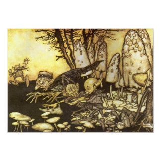 Vintage Fairy Tale, Band of Workmen by Rackham Card
