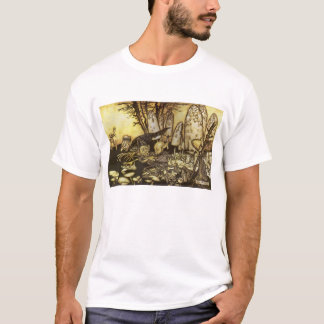 Vintage Fairy Tale, Band of Workmen by Rackham T-Shirt
