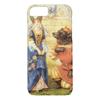 Vintage Fairy Tale, Beauty and the Beast iPhone 8/7 Case