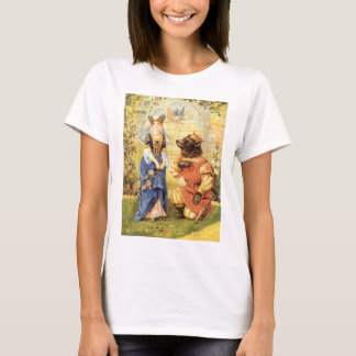 Vintage Fairy Tale, Beauty and the Beast T-Shirt