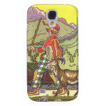 Vintage Fairy Tale, Boy and the North Wind, Hauman Samsung Galaxy S4 Covers