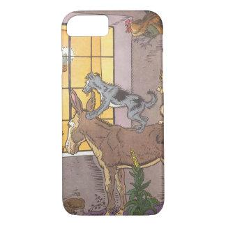 Vintage Fairy Tale, Bremen Town Musicians, Hauman iPhone 7 Case