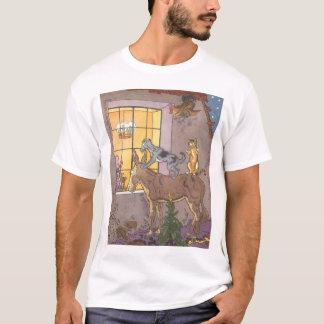 Vintage Fairy Tale, Bremen Town Musicians, Hauman T-Shirt