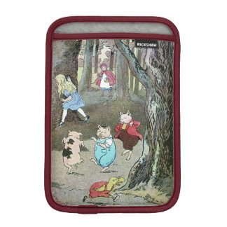 Vintage Fairy Tale Characters iPad Mini Sleeve