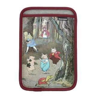 Vintage Fairy Tale Characters iPad Mini Sleeves