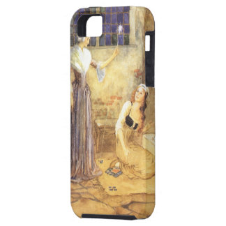 Vintage Fairy Tale, Cinderella and Fairy Godmother iPhone SE/5/5s Case