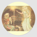 Vintage Fairy Tale, Cinderella and Fairy Godmother Sticker