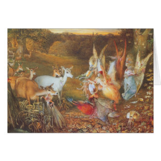 Vintage Fairy Tale, Enchanted Forest by Fitzgerald Card