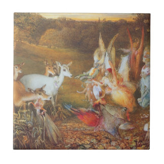 Vintage Fairy Tale, Enchanted Forest by Fitzgerald Ceramic Tile