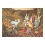 Vintage Fairy Tale, Enchanted Forest by Fitzgerald Custom Invitation