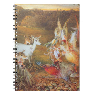 Vintage Fairy Tale, Enchanted Forest by Fitzgerald Notebook