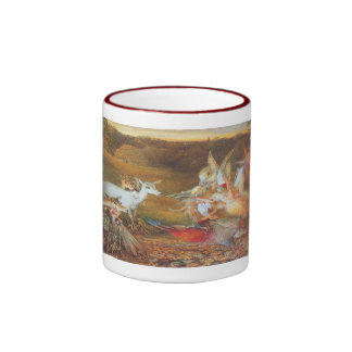 Vintage Fairy Tale, Enchanted Forest by Fitzgerald Ringer Mug