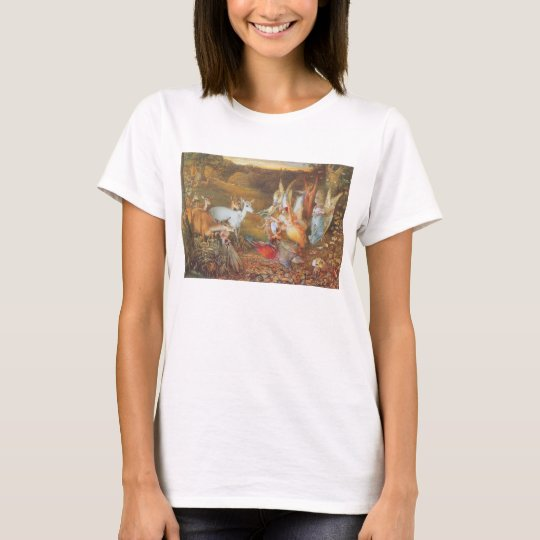 Vintage Fairy Tale, Enchanted Forest by Fitzgerald T-Shirt