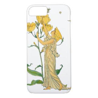 Vintage Fairy Tale, Evening Primrose, Walter Crane iPhone 8/7 Case