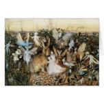 Vintage Fairy Tale Fairy Twilight, John Fitzgerald Greeting Card