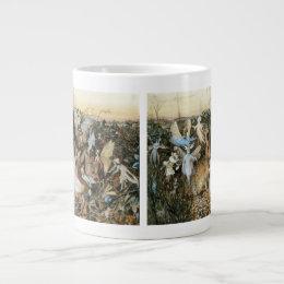 Vintage Fairy Tale Fairy Twilight, John Fitzgerald Giant Coffee Mug