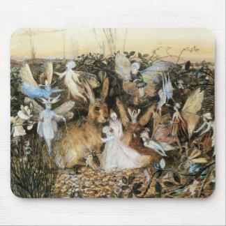 Vintage Fairy Tale Fairy Twilight, John Fitzgerald Mouse Pad