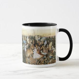 Vintage Fairy Tale Fairy Twilight, John Fitzgerald Mug