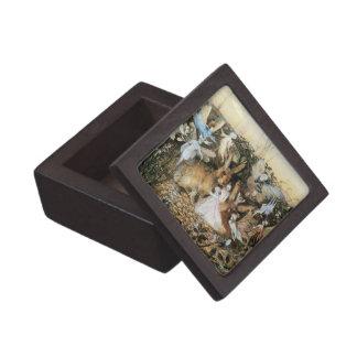 Vintage Fairy Tale Fairy Twilight, John Fitzgerald Premium Keepsake Boxes