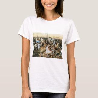 Vintage Fairy Tale Fairy Twilight, John Fitzgerald T-Shirt