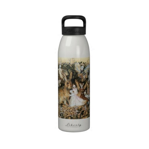 Vintage Fairy Tale Fairy Twilight, John Fitzgerald Drinking Bottle