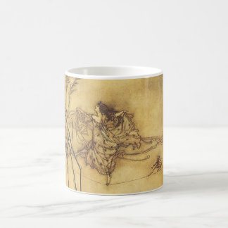 Vintage Fairy Tale, Fairy's Tightrope by Rackham Coffee Mug
