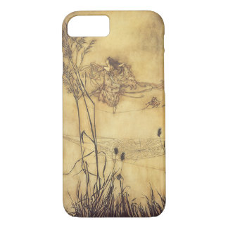 Vintage Fairy Tale, Fairy's Tightrope by Rackham iPhone 8/7 Case