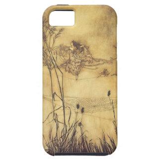 Vintage Fairy Tale, Fairy's Tightrope by Rackham iPhone SE/5/5s Case