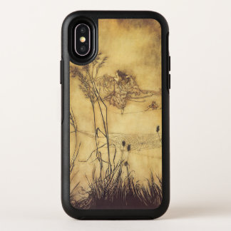 Vintage Fairy Tale, Fairy's Tightrope by Rackham OtterBox Symmetry iPhone X Case