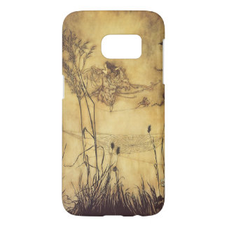 Vintage Fairy Tale, Fairy's Tightrope by Rackham Samsung Galaxy S7 Case
