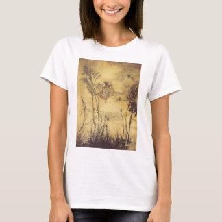 Vintage Fairy Tale, Fairy's Tightrope by Rackham T-Shirt