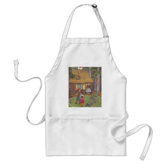 Vintage Fairy Tale, Hansel and Gretel by Hauman Adult Apron