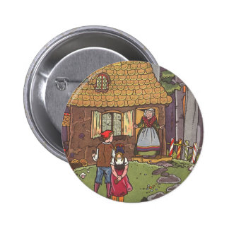 Vintage Fairy Tale, Hansel and Gretel by Hauman Button