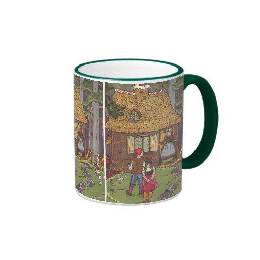 Vintage Fairy Tale, Hansel and Gretel by Hauman Coffee Mugs
