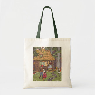 Vintage Fairy Tale, Hansel and Gretel by Hauman Tote Bag