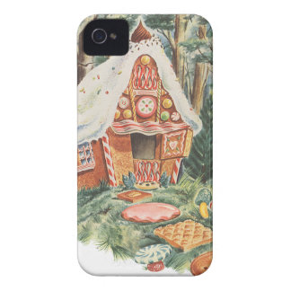 Vintage Fairy Tale, Hansel and Gretel Candy House iPhone 4 Case