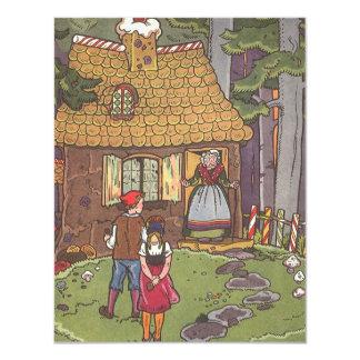 Vintage Fairy Tale Hansel and Gretel Invitation