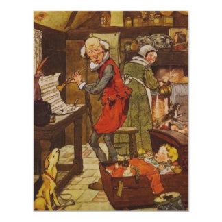 Vintage Fairy Tale 4.25x5.5 Paper Invitation Card