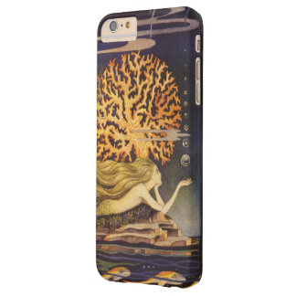 Vintage Fairy Tale, Little Mermaid in Ocean Coral Barely There iPhone 6 Plus Case