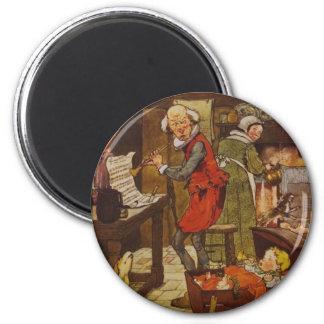Vintage Fairy Tale Musical Baby Fridge Magnet
