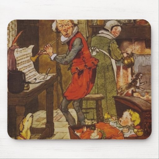 Vintage Fairy Tale Musical Baby Mouse Pad