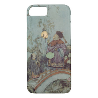 Vintage Fairy Tale, Nightingale by Edmund Dulac iPhone 8/7 Case